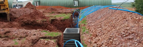 groundworks for ground source heat pumps